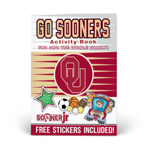 Oklahoma Sooners Activity Book