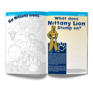 Penn State Nittany Lions Activity Book