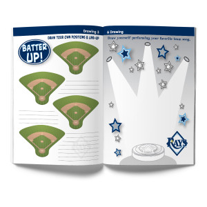Tampa Bay Rays Activity Book