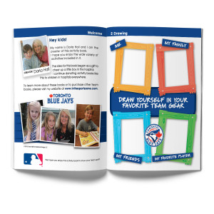 Toronto Blue Jays Activity Book