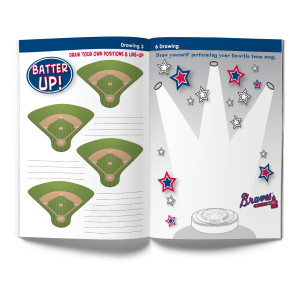 Atlanta Braves Activity Book