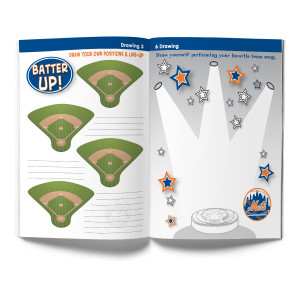 New York Mets Activity Book