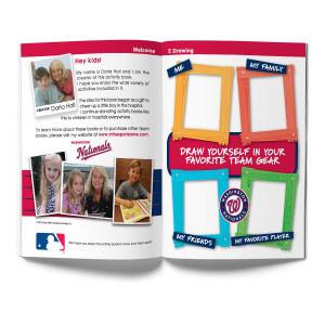 Washington Nationals Activity Book