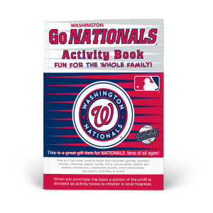 Washington Nationals Activity Book