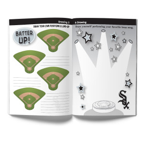 Chicago White Sox Activity Book