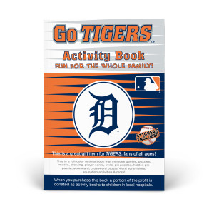 Detroit Tigers Activity Book
