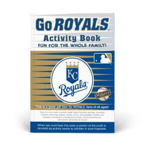 Kansas City Royals Activity Book