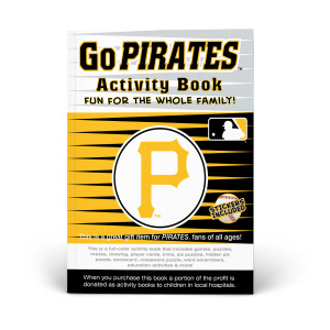Pittsburgh Pirates Activity Book