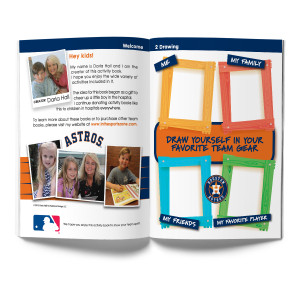 Houston Astros Activity Book