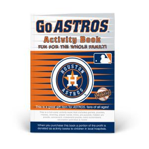 Houston Astros Activity Book