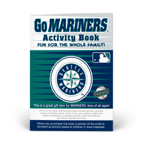 Seattle Mariners Activity Book