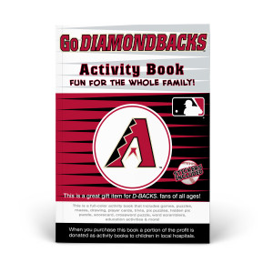 Arizona Diamondbacks Activity Book