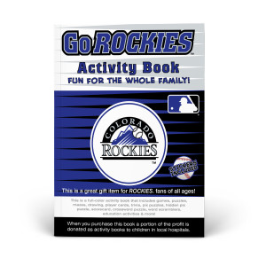 Colorado Rockies Activity Book