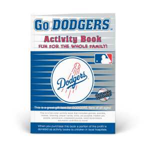 Los Angeles Dodgers Activity Book