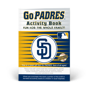 San Diego Padres Activity Book