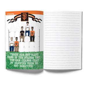 San Francisco Giants Activity Book