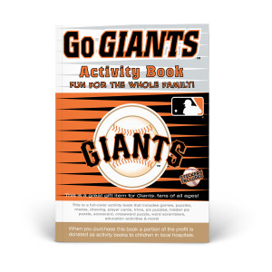San Francisco Giants Activity Book
