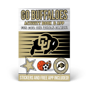 Colorado Buffaloes Activity Book