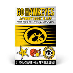 Iowa Hawkeyes Activity Book