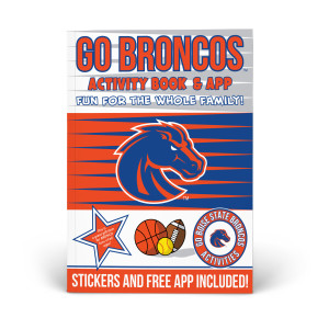 Boise State Broncos Activity Book
