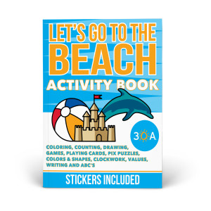 30A Let's Go to the Beach Activity Book