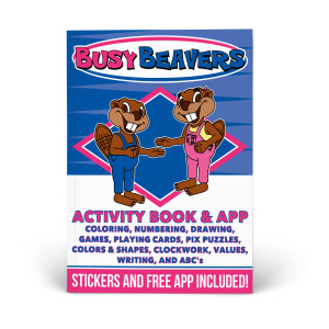 Busy Beavers Activity Book