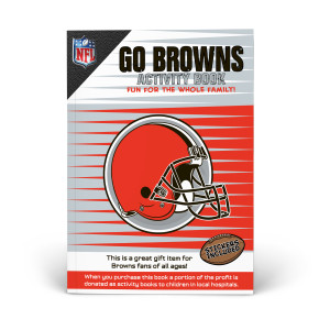 Cleveland Browns Activity Book