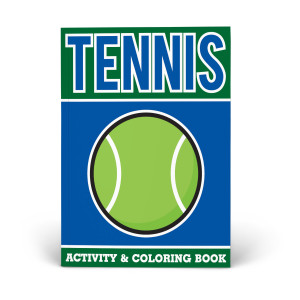 Tennis Activity & Coloring Book
