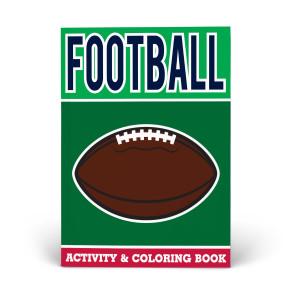 Football Activity & Coloring Book