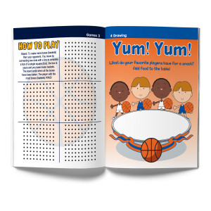 Basketball Activity & Coloring Book