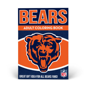 Chicago Bears Adult Coloring Book