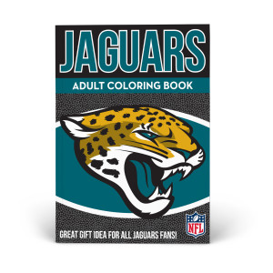 Jacksonville Jaguars Adult Coloring Book