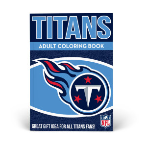 Tennessee Titans Adult Coloring Book