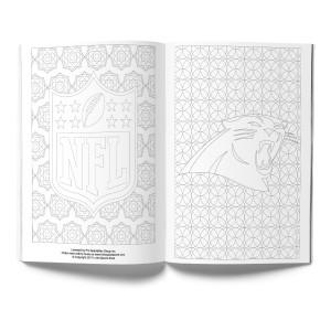 Carolina Panthers Adult Coloring Book