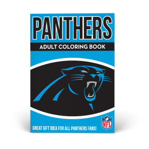 Carolina Panthers Adult Coloring Book