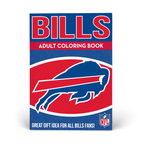 Buffalo Bills Adult Coloring Book