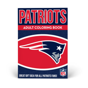New England Patriots Adult Coloring Book