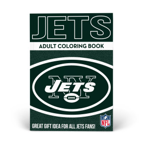 New York Jets Adult Coloring Book