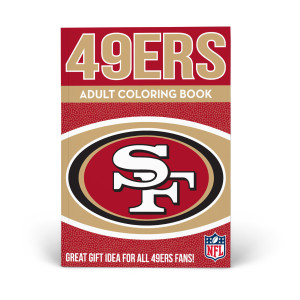 San Francisco 49ers Adult Coloring Book