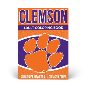Clemson Tigers Adult Coloring Book