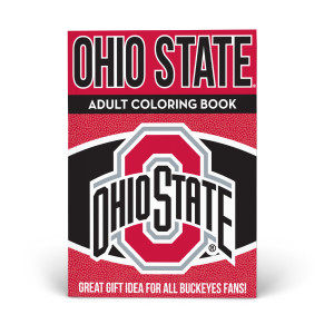 Buckeyes Adult Coloring Book