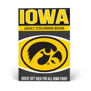 Iowa Hawkeyes Adult Coloring Book