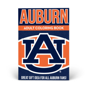 Auburn War Eagle Adult Coloring Book