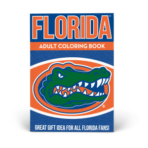 Florida Gators Adult Coloring Book