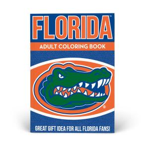 Florida Gators Adult Coloring Book