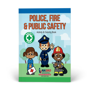 NASRO Police, Fire & Public Safety Activity & Coloring Book