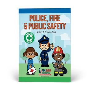 NASRO Police, Fire & Public Safety Activity & Coloring Book