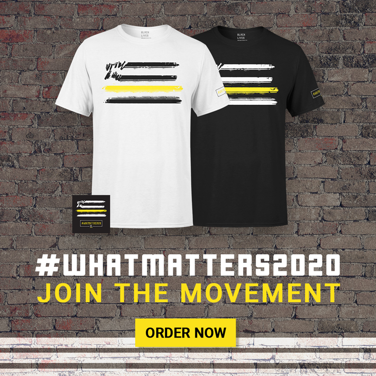 #WHATMATTERS2020 Join The Movement Order Now