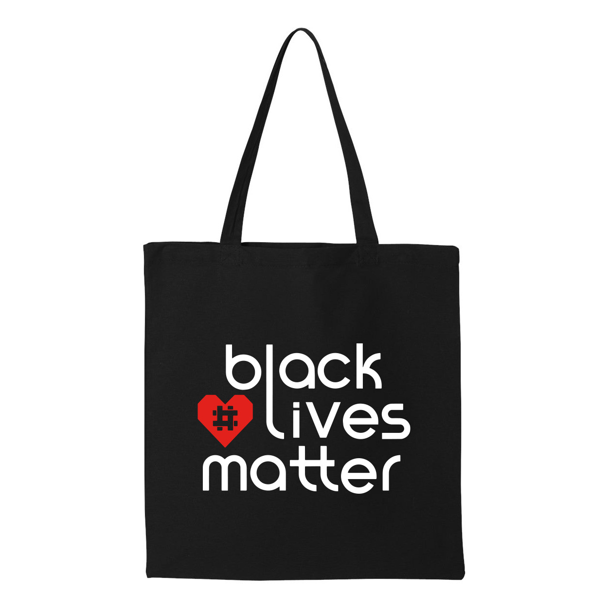 Official Red Heart Hashtag Tote