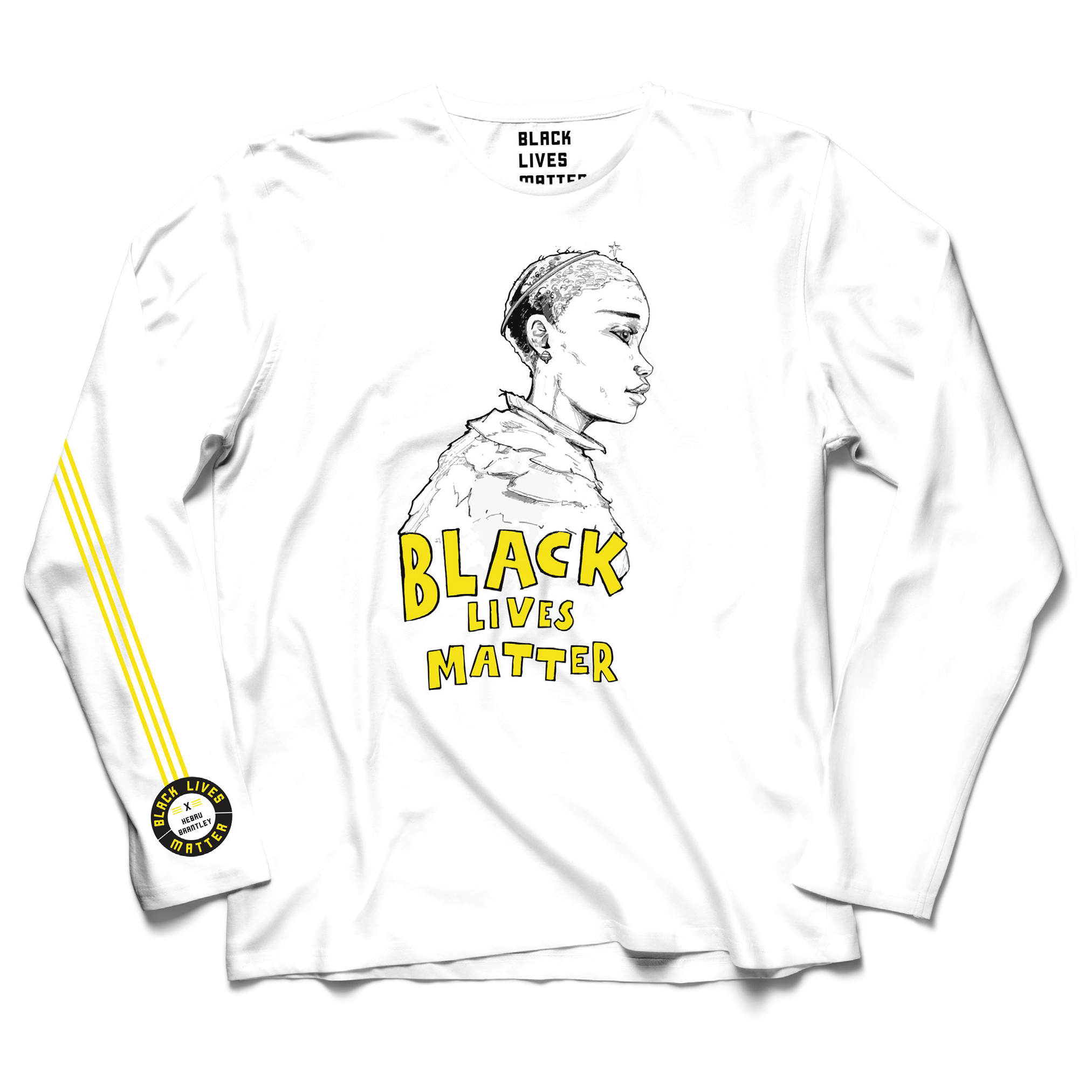 LIMITED EDITION Hebru Brantley Long Sleeve Tee (White)